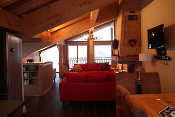 St Martin Ski Chalet: Spacious Rooms