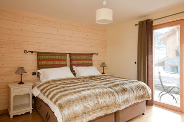 St Martin Ski Chalet: Airy Bedrooms